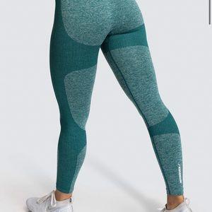Do You Even Green Leggings XS